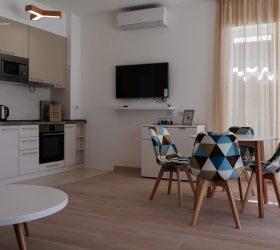 апартаменты 1.2. столовая-кухня